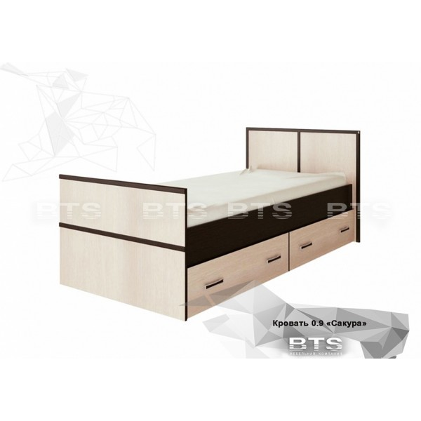 Сакура Кровать 0, 9